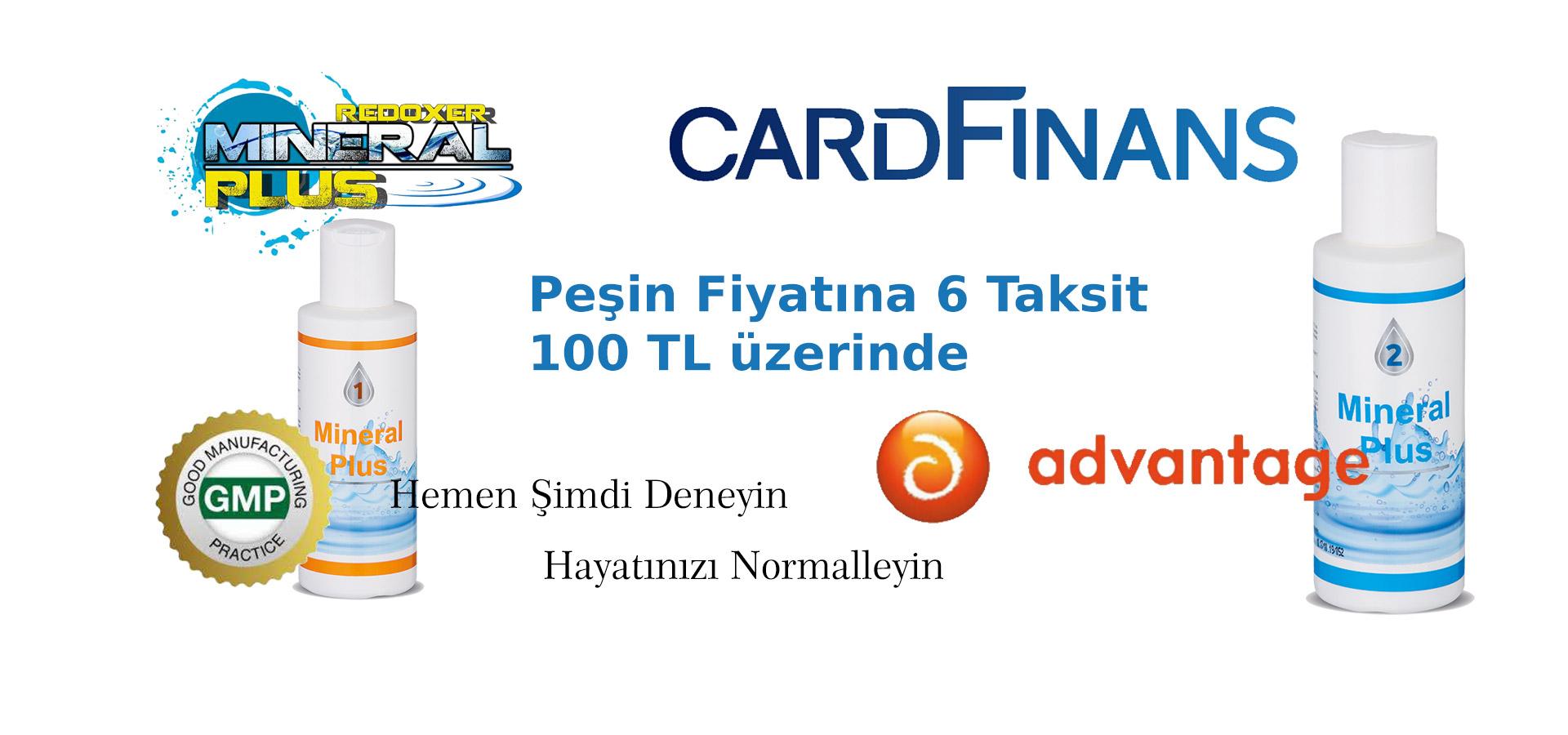 CardFinans ve Advantage Card a 0 faiz 6 ay Taksit